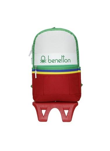 Benetton Benetton Sırt Çantası Q-050 70032 Renkli